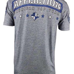 Affliction Clothing Affliction ATT T Shirt Grey MMA Kleding Nederland