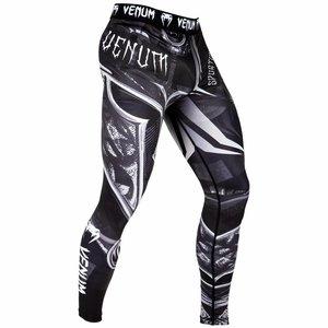 Venum Venum Legging Gladiator Black White 3.0 Spats Tights Venum Fightstore