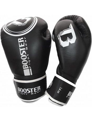Booster Booster BGL 1 Boxhandschuhe Schwarz Weiss Leder