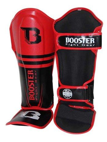 Booster Booster Kickboks Scheenbeschermers Pro Siam 1 Zwart Rood