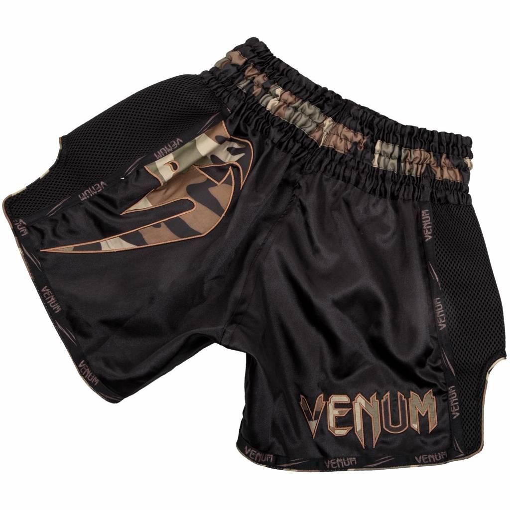Venum Giant Lightweight Muay Thai Shorts Black//White