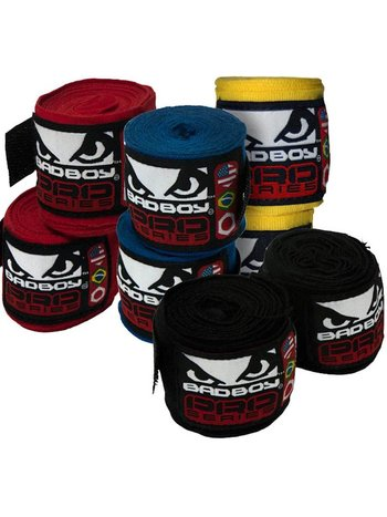 Bad Boy Bad Boy Bandage 250 cm Zwachtels Windels Hand Wraps