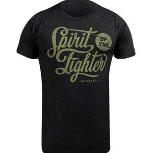 Hayabusa Hayabusa Spirit of the Fighter T Shirt Schwarz
