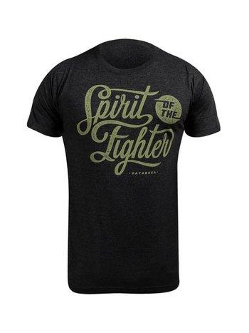Hayabusa Hayabusa Spirit of the Fighter T Shirt Zwart MMA Shop Europe
