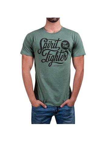 Hayabusa Hayabusa Spirit of the Fighter T Shirt Groen Hayabusa Fightwear
