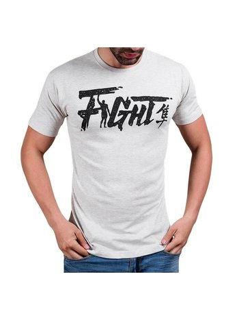 Hayabusa Hayabusa Fight T Shirt Grau Hayabusa Martial Arts Shop