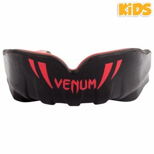 Venum Venum Challenger KIDS Mond Bitje Mouth Guard Zwart Rood