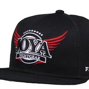 Joya Fight Wear Joya Fightgear Logo Hat Cap Original Snapback Cap Black