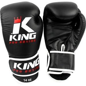 King Pro Boxing King Pro Boxing Boxhandschuhe Schwarz Boxing Gloves KPB/BG 3