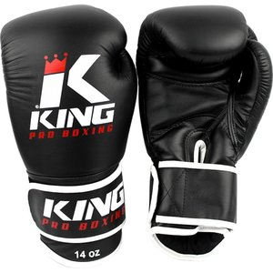 King Pro Boxing King Pro Boxing KPB Boxing Gloves Black KPB/BG 3 Leather