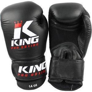 King Pro Boxing King Pro Boxing Boxhandschuhe Schwarz Mesh KPB/BG Air
