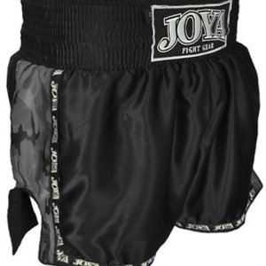 Joya Fight Wear Joya Kickbox-Hosen Schwarz Camo Muay Thai Shorts