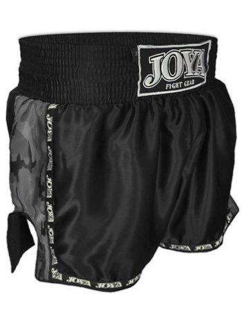 Joya Fight Wear Joya Thai KickboksBroekjes Zwart Camo Joya Muay Thai Kleding