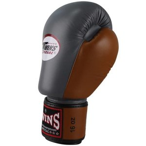 Twins Special Twins Boxing Gloves BGVL 3 Grey Brown Twins Fightshop EU
