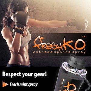 Fresh K.O.  Freshko Extreme Glove Spray Bokshandschoen Verfrisser
