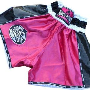 Punch Round™  Punch Round Kickboks Broekjes Dames Carbon Roze Muay Thai Shorts