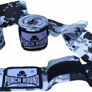 Punch Round™  Punch Round™ Perfect Stretch Camo Hand Wraps Bandages 460 cm