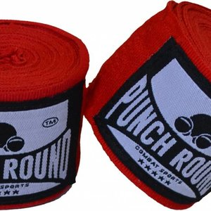 Punch Round™  Punch Round™ Perfect Stretch Boxbandagen Rot 460 cm