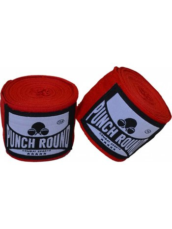 PunchR™  Punch Round™ Perfect Stretch Bandages Rood 460 cm