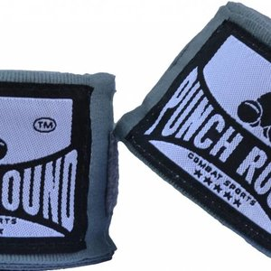 Punch Round™  Punch Round Perfect Stretch Hand Wraps Grey Nylon 460 cm