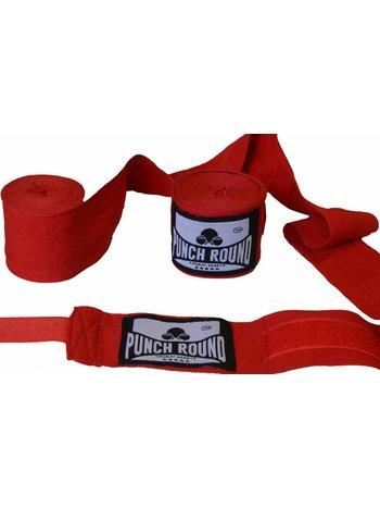 PunchR™  Punch Round™ Perfect Stretch Boxbandagen Rot 260 cm