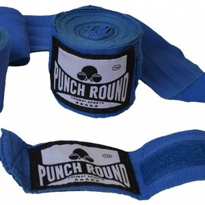 Punch Round™  Punch Round Perfect Stretch Hand Wraps Blue Nylon 260 cm