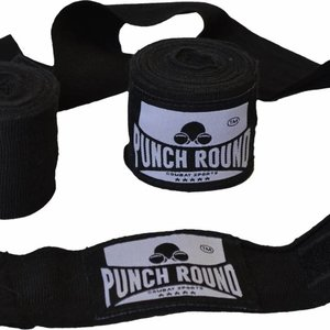 Punch Round™  Punch Round™ Perfect Stretch Bandages Zwart 260 cm