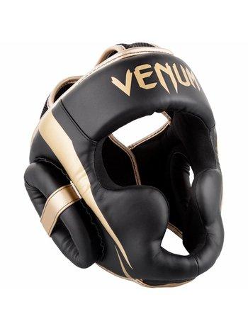 Venum Venum Hoofdbeschermer Elite Headgear Zwart Goud
