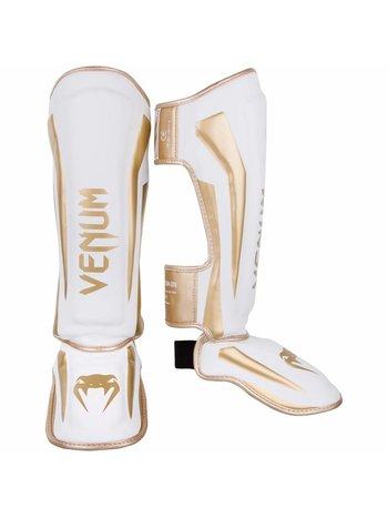 Venum Venum SchienbeinschonerElite Shinguards Weiss Gold