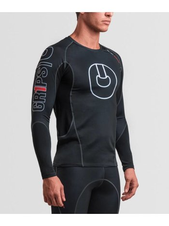 GR1PS - GRIPS Grips Rash Guard L/S Armadura 2.0 Black Gr1ps