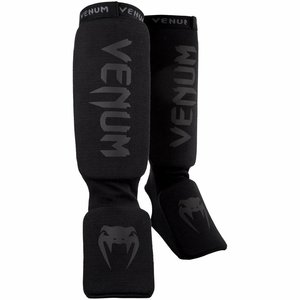 Venum Venum Kontact Shin Guards Black on Black