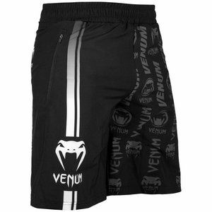 Venum Venum Logos Fitness Shorts Black White