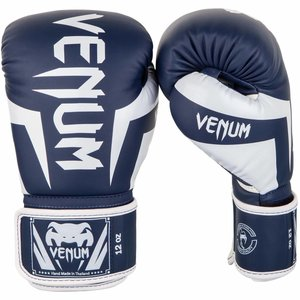 Venum Venum Boxing Gloves Impact Navy Bleu White Venum Shop