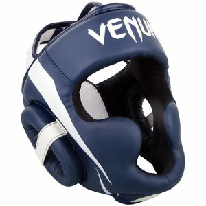 Venum Venum Elite Headgear Navy Blue Head Protection