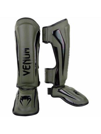 Venum Venum Beinschutz Elite Kaki Schwarz Venum Deutschland
