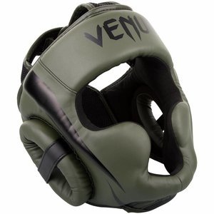 Venum Venum Elite Headgear Khaki Black Head Protection