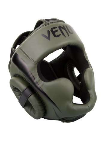 Venum Venum Elite Headgear Khaki Black Head Protection