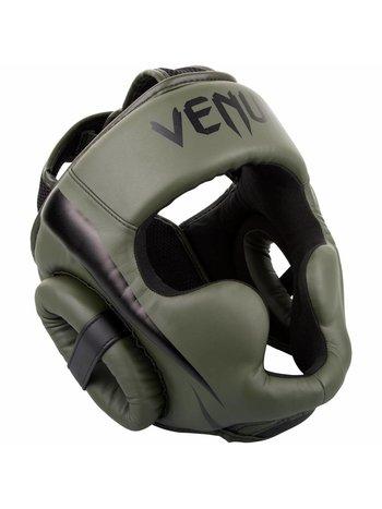 Venum Venum Hoofdbeschermer Elite Headgear Khaki Zwart