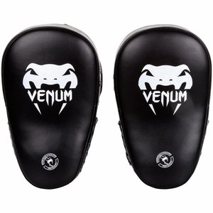 Venum Venum Pads Elite Big Focus Mitts Black Grey Venum Gear