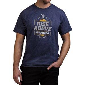Hayabusa Hayabusa T Shirt Rise Above Blauw Vechtsport Kleding