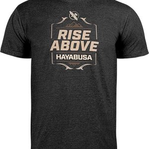Hayabusa Hayabusa T Shirt Rise Above Schwarz Hayabusa Fightwear