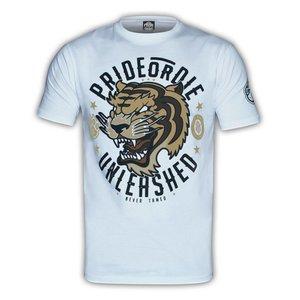 Pride or Die PRiDEorDiE T-Shirt Unleashed Weiß MMA Shirts