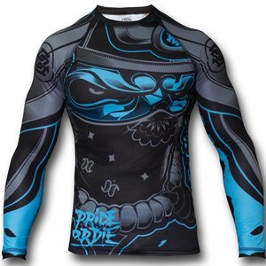 Pride or Die PRiDEorDiE Rash Guards L/S RONIN Compression Training Top