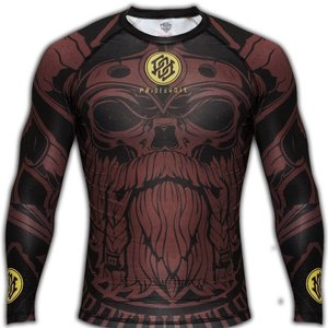 Pride or Die PRiDEorDiE Rash Guards L/S Brotherhood Compression Shirts