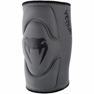 Venum Venum Kontact Gel Kneepads Grey Black Venum Protection