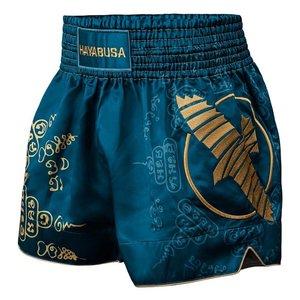 Hayabusa Hayabusa Falcon Muay Thai Kickboxing Shorts Steel Blue