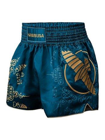 Hayabusa Hayabusa Falcon Muay Thai Kickbox Shorts Blau