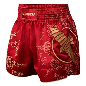 Hayabusa Hayabusa Falcon Muay Thai Kickboxing Shorts Red