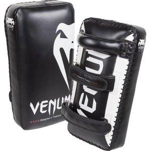 Venum Venum Giant Kick Pads Thai Pads Schwarz Weiß