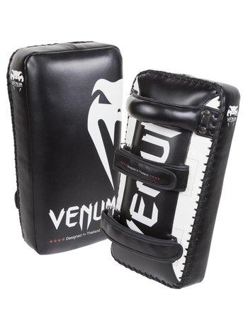 Venum Venum Giant Kick Pads Thai Pads Zwart Wit